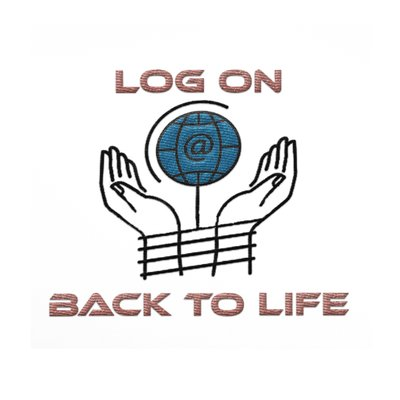 Log on Back to Life Logo